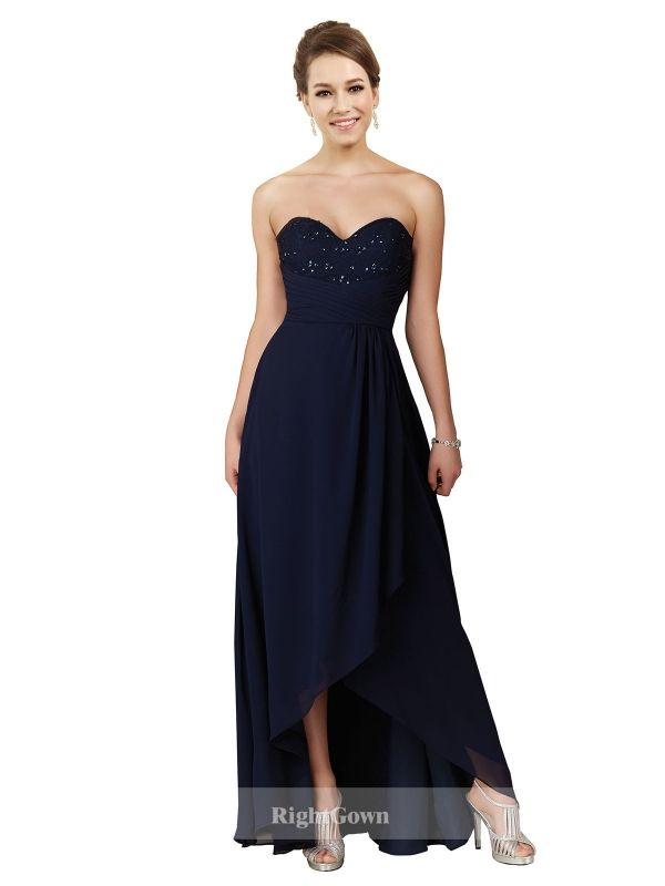 Cheap Right Gowns 2018 Dreamy Styles Long Chiffon Sweetheart Strapless Bridesmaid Dresses 172006, Right Bridesmaid Dresses, Cheap Bridesmaid Dresses and Buy Discount Bridesmaid Dresses2018