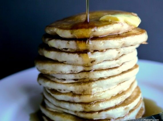 My Secret to the Fluffiest Pancakes from The Noble Pig