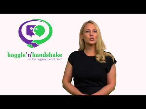 Consumers can now haggle anonymously live on Haggle'n'Handshake with sellers and get better deals on everything!