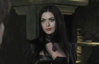 Aliyah O'Brien as Afina  evil vampire queen. How dare she try to kill Nikolai Tesla!!