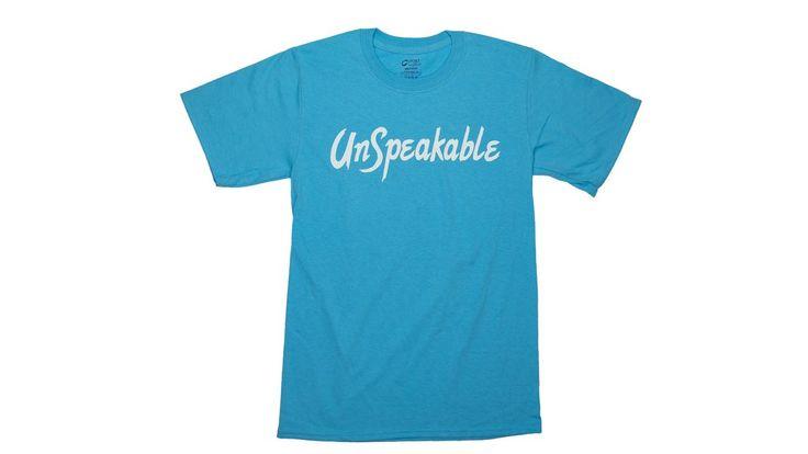 Blue Unspeakable T Shirt Shirts T Shirt Blue