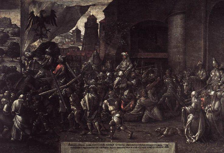 Ο δρόμος προς Γολγοθά (1527)