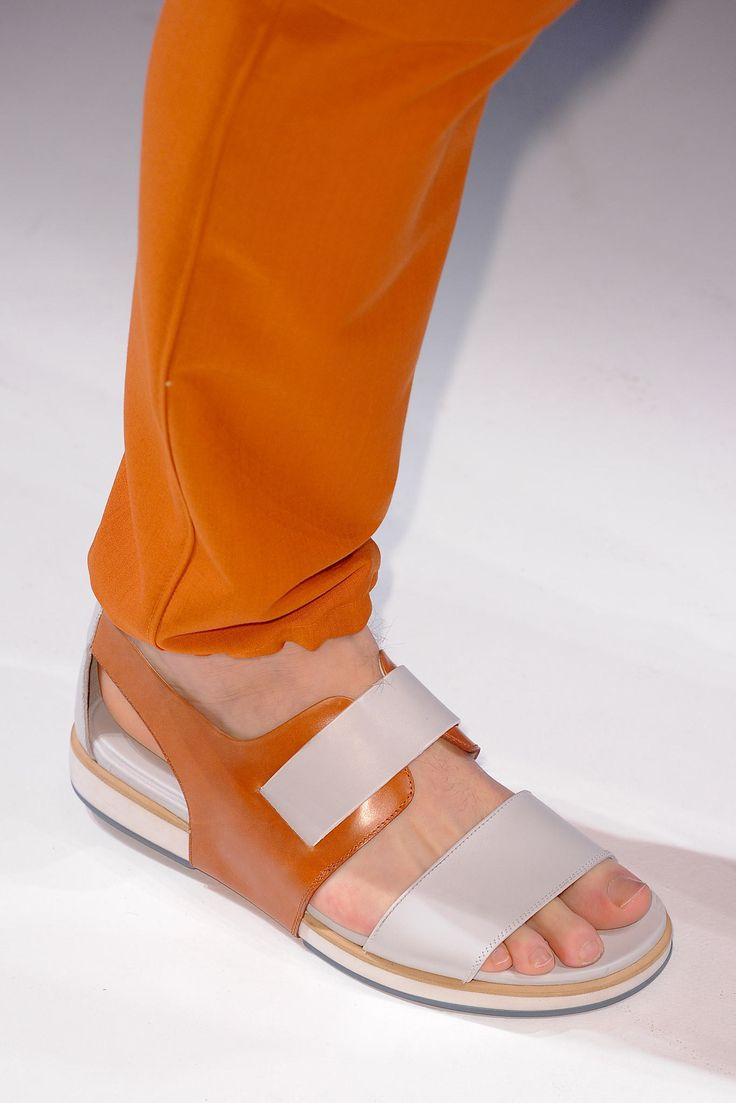Salvatore Ferragamo Spring 2014 Menswear #shoes