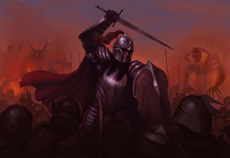 Феанор  ArtStation - Feanor's Last Stand, Kenneth Sofia