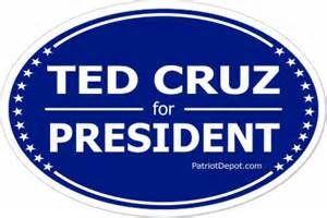 """Free """"Ted Cruz"""" Bumper Sticker"""