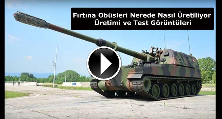 (VİDEO) Yerli T-155 Fırtına Obüsleri Nerede Nasıl Üretiliyor - Üretimi ve Test Görüntüleri