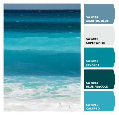 Sherwin-Williams: great beach paint colors