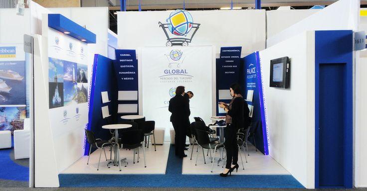 Cliente: Global Mercado del turismo Stand comercial Anato 2014