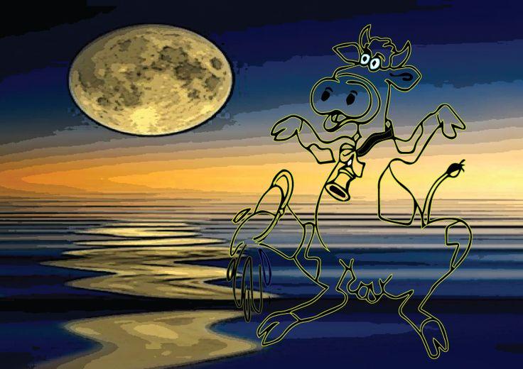 mucca davanti eclissi solare...fumettando