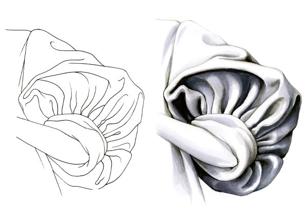 DRAWING | Depth, Beauty and Nuance In The Sleeve - Fashion Finishing School