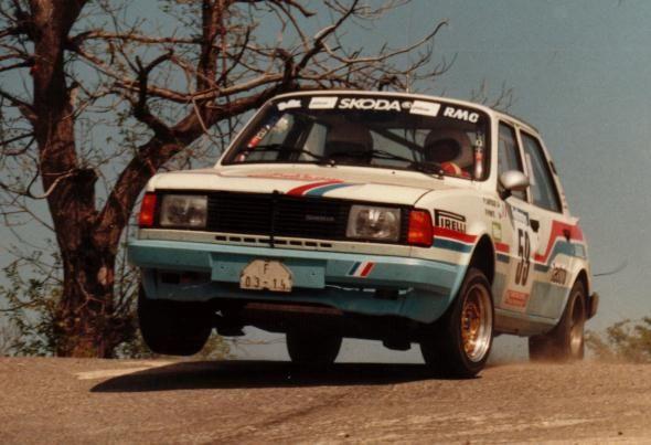 Tour de Corse 1985 - Lartigue Pierre - Ponte RenéiconŠkoda 130 LR