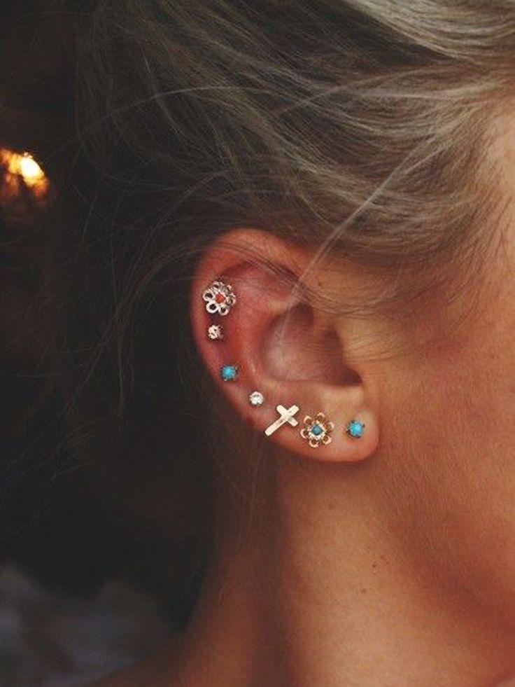 piercing d'oreille : 20 idées pour ne pas se rater
