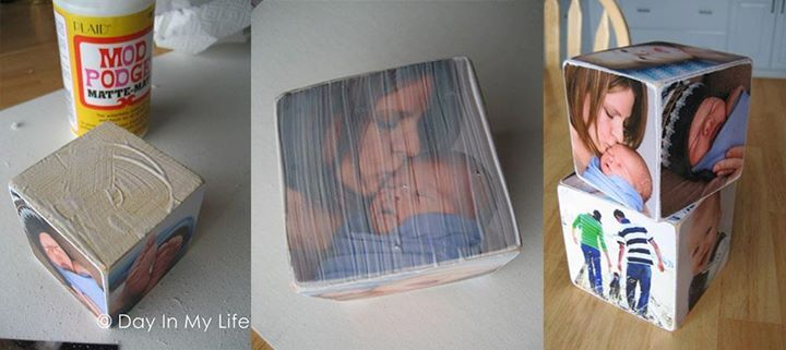 Photo blocks!! SO AWESOME!! I am so doing this for my future kids :D.