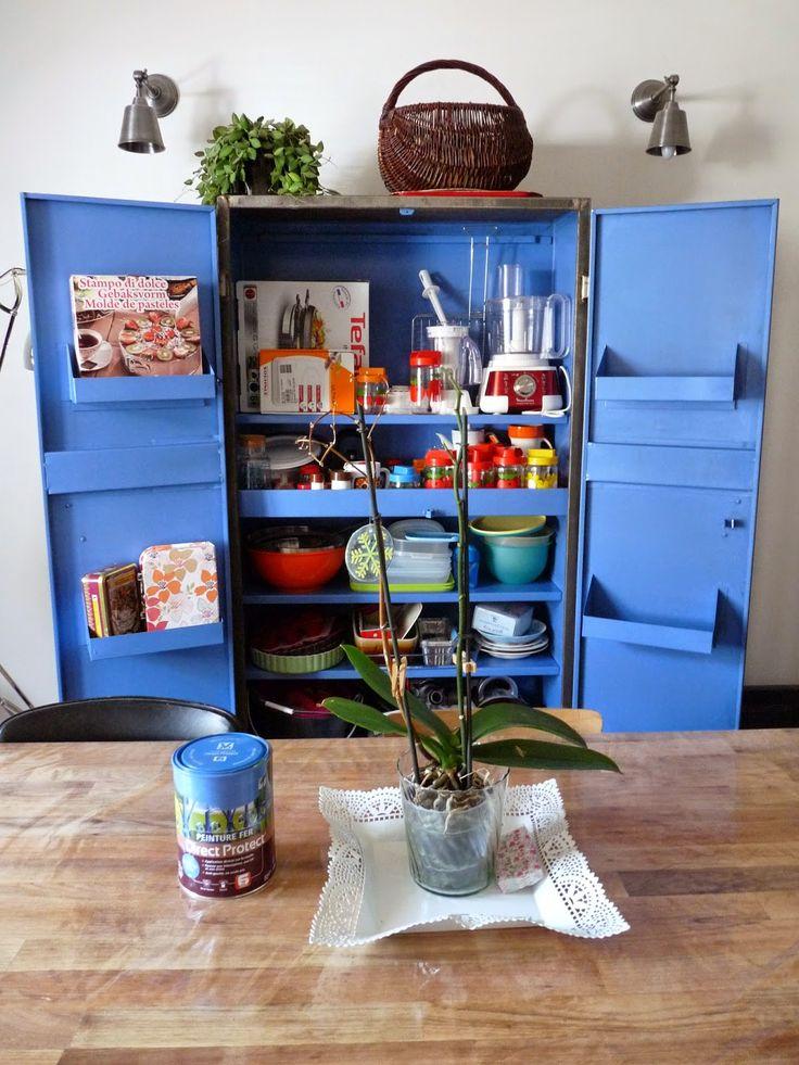 17 meilleures id es propos de armoire m tallique sur pinterest armoire m - Comment decaper une armoire metallique ...