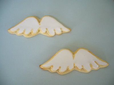 images of angel wing cookies | Yuko's Cookies~: Angel wing cookies.