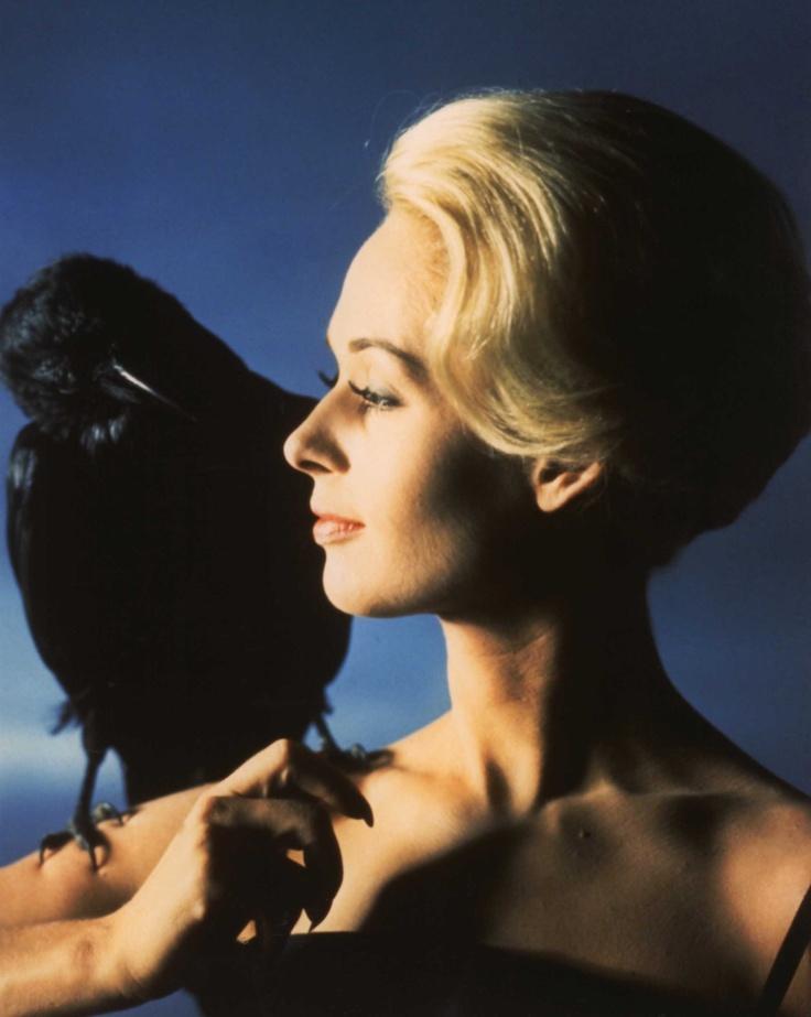 Tippi Hedren: Interesting People, Public Photos, Movie, Alfred Hitchcock, Tippi Hedren, Birds 1963, Crows, Ravens, Actresses