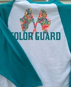 Color Guard Baseball T Free Shipping Colorguard by ShowItProud
