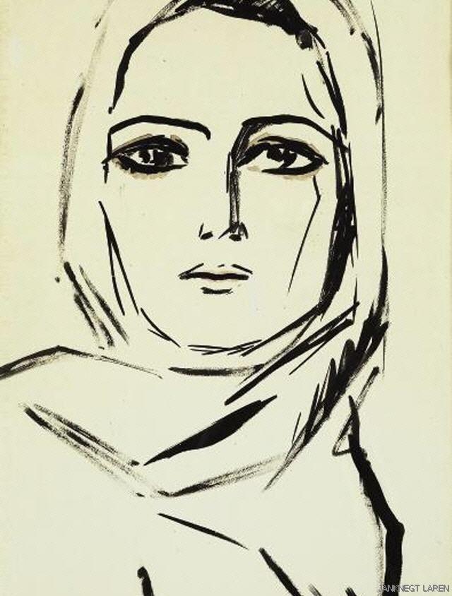 Portrait by Kees van Dongen
