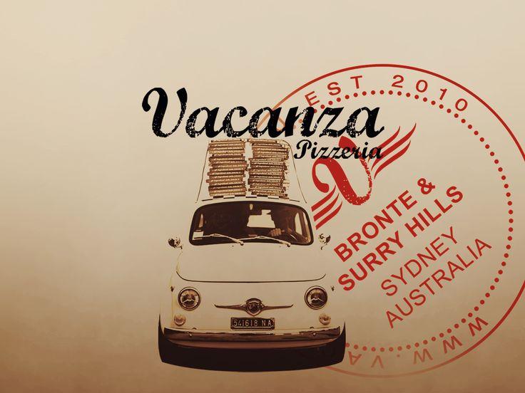 "Vacanza pizzeria Surry Hills I recommend the ""Il Capitano"" Pizza : San Marzano tomatoes, Italian fior di latte, truffle oil, goats cheese, Swiss roasted mushrooms & Italian pork and fennel sausage"