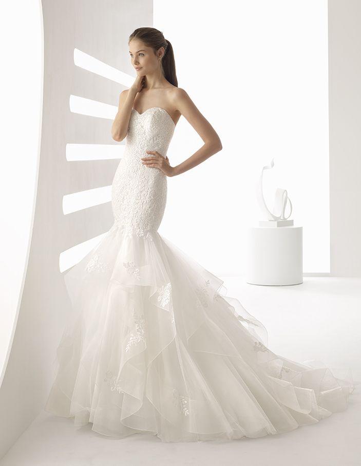 The 32 best Hochzeitskleider von Rosa Clara images on Pinterest ...