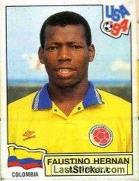 Sticker 68: FAUSTINO HERMAN ASPRILLA - Panini FIFA World Cup USA 1994 - laststicker.com