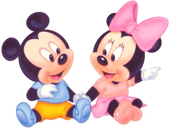 Baby mickey and minnie mouse white pooh 39 s hundred acre wood pooh babies mickey 39 s - Photo minnie et mickey bebe ...
