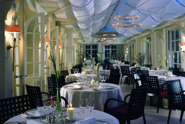 The Dining Room at Chewton Glen, Hampshire