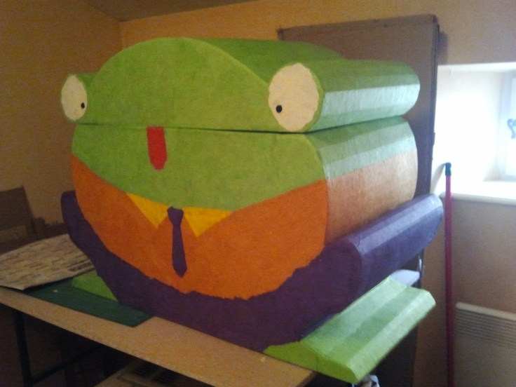 Frog Toy Box cardboard !!! (by me)  http://magcartone.over-blog.com/