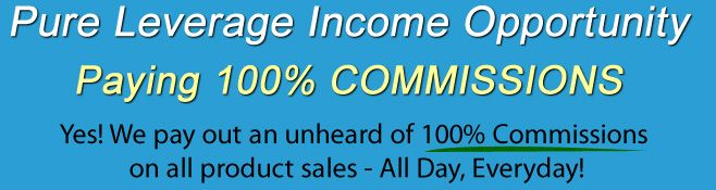 Learn How to Make 100% Commissions