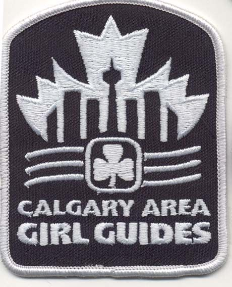 Calgary Area, Alberta, Girl Guides of Canada patch/crest. #GGC #Girl_Guides #patches