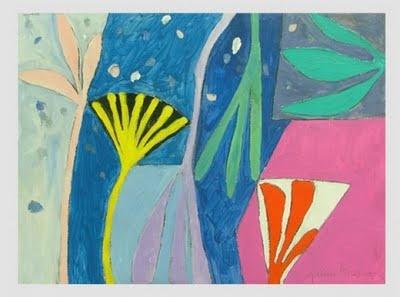 pinkpagodastudio: Inspiration: British Artist / Printmaker, Gillian Ayres