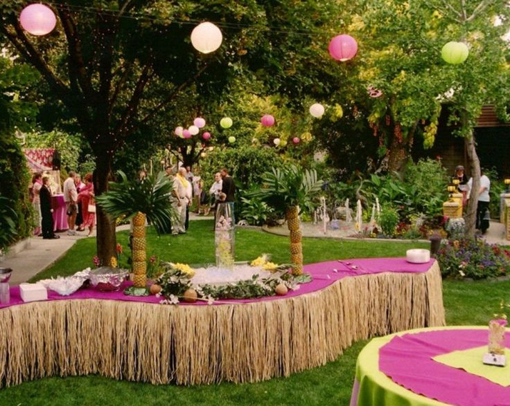 Party Decorating Ideas For Adults best 25+ hawaiian themed parties ideas on pinterest | luau