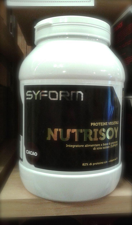 Nutrysoy Syform: Integratore di #proteine della #soia #sport  #integratori