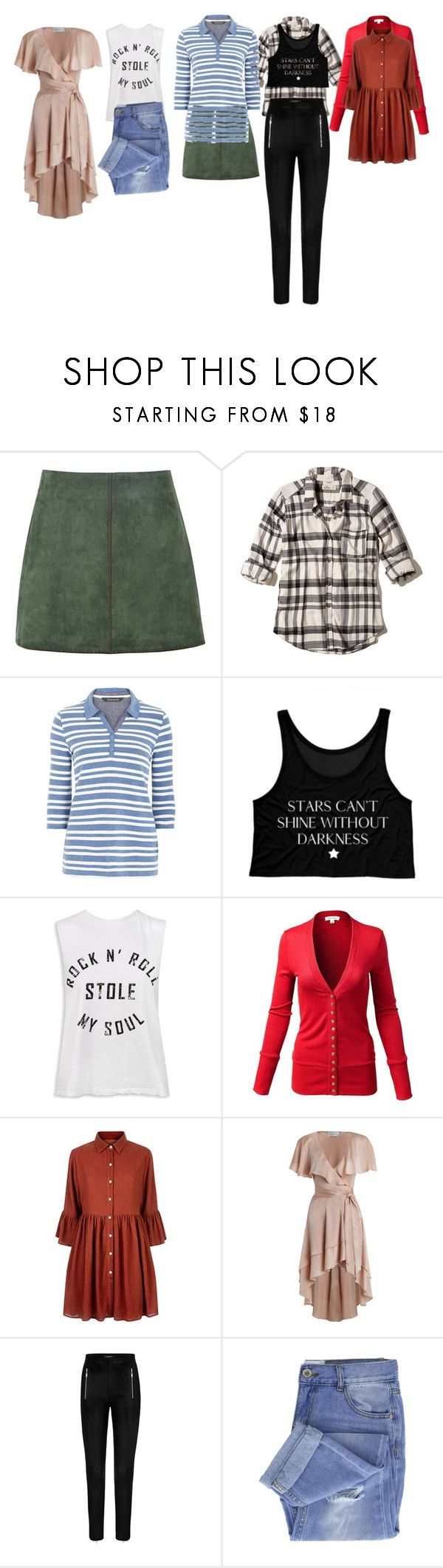 """""""Untitled #6862"""" by aurorazoejadefleurbiancasarah ❤ liked on Polyvore featuring George J. Love, Hollister Co., Sans Souci, Mela Loves London, Zimmermann and Taya"""