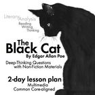 """Use the short story, """"The Black Cat"""" by American Gothic/Dark Romantic writer Edgar Allan Poe, to teach your students the elements of literary analy..."""