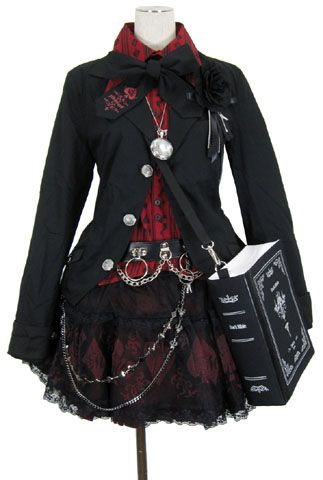 If the skirt part was just a bit longer this would be really cute. That and I have no idea if this is anime/manga cosplay or not. http://25.media.tumblr.com/tumblr_m2kdbnMJJJ1ru25zto2_400.jpg