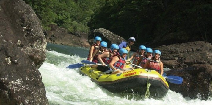 THINGS TO DO IN CAIRNS: Rafting - Tully River Full Day - Raging Thunder