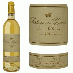 a bottle of Sauternes
