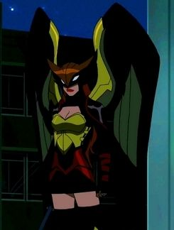 DC: Young Justice Hawkgirl