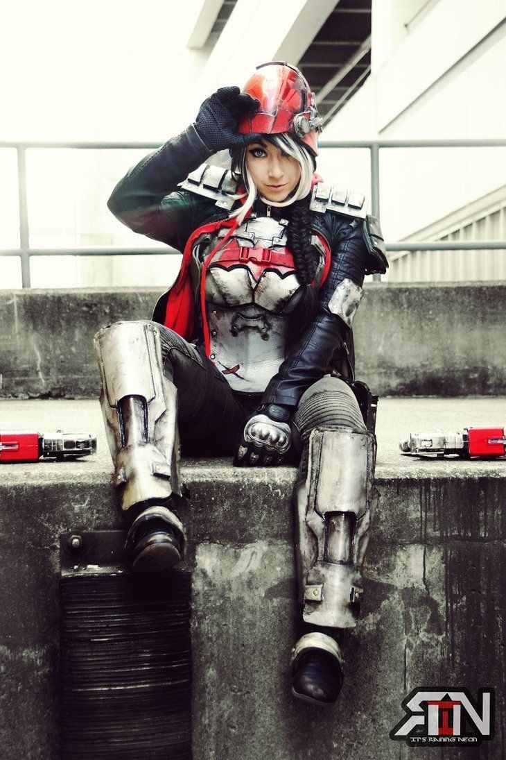 Deanna Davis as Red Hood - Arkham Knight