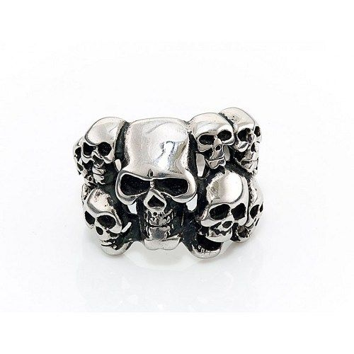 Skull ring, men's gifts, Christmas gifts, silver rings