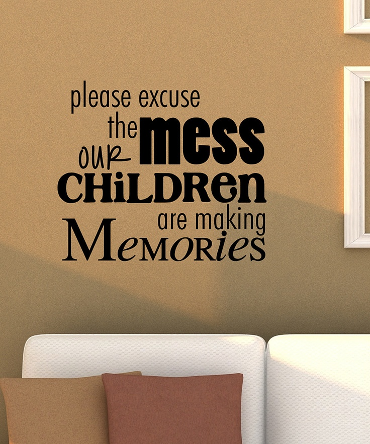 Black 'Making Memories' Wall Quote
