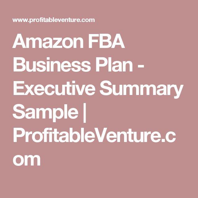 executive summary of amazon Ibusiness executive summary:  wo es sich für händler abseits von amazon und ebay lohnt zu verkaufen und worauf es bei der auswahl zu achten gilt,.