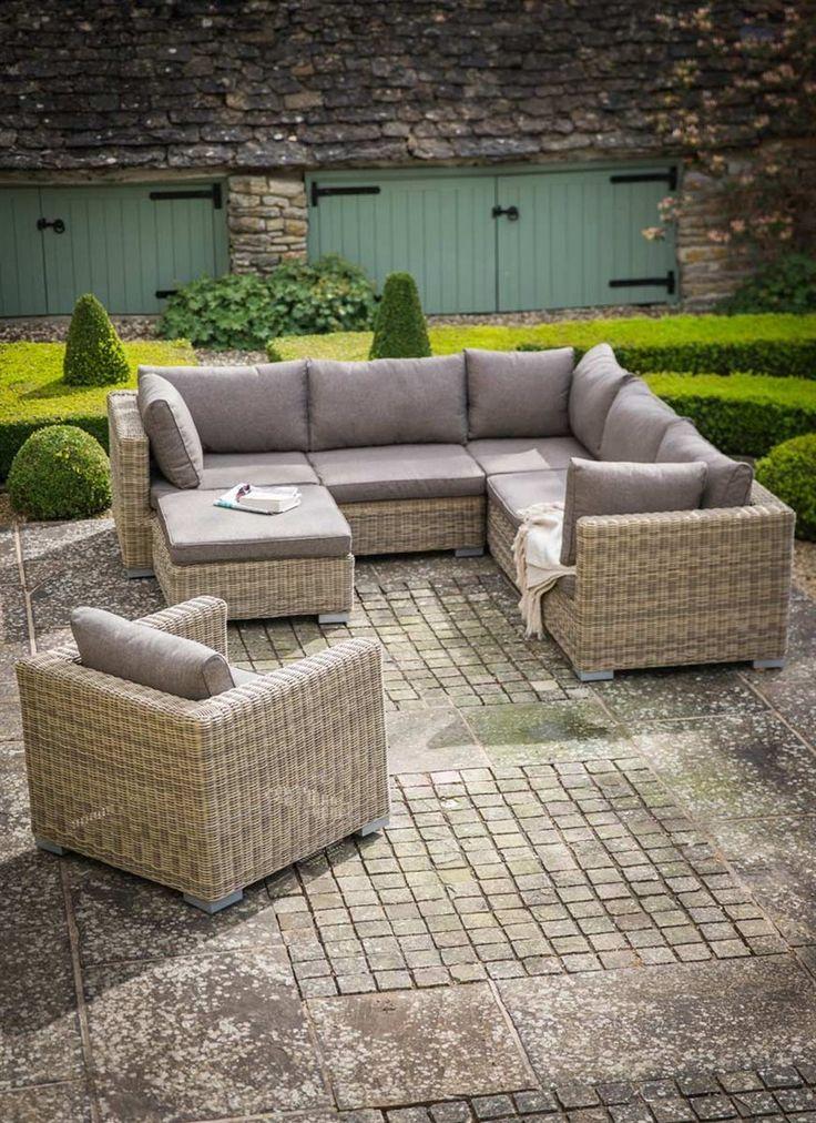 Beautiful Marden Corner Sofa Set   PE Rattan