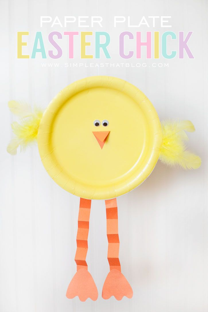 Check out this Easter craft for kids tutorial by Simple As That. Get together with the little ones before the holiday or day-of to create this plucky Easter décor piece the family will love and the kids will cherish.