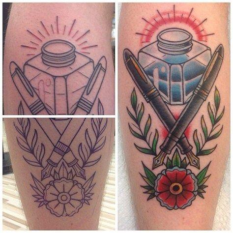 Shaffer pen tattoo