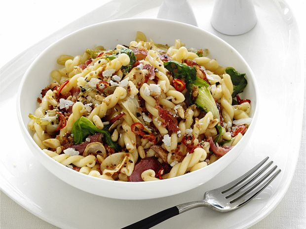 Pasta With Escarole from #FNMag #Grains #Veggies #MyPlate