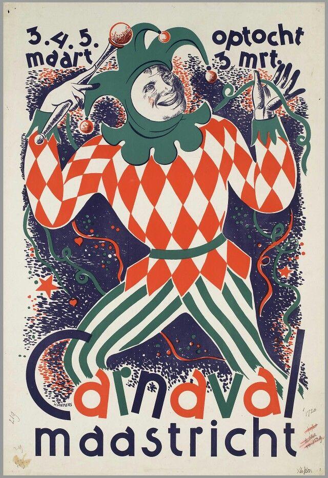 Voor carnaval in Maastricht 1930