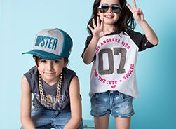 Even Kids can wear Lucky 7 !!  Available @Denimkings