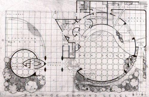 N.Y. Planimetría original (Frank Lloyd Wright)